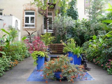 Jardin mauresque 3 cath drale st etienne cahors apf du lot for Jardin hispano mauresque