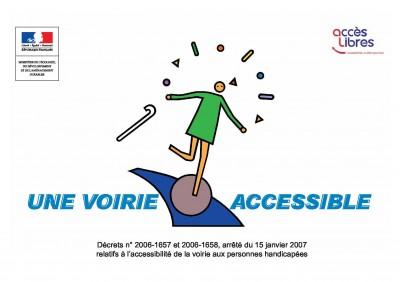 """"""" pavés bombés"""", """"voirie accessible"""""""
