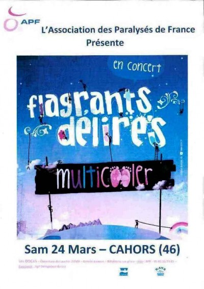"""flagrants délires"",concert"