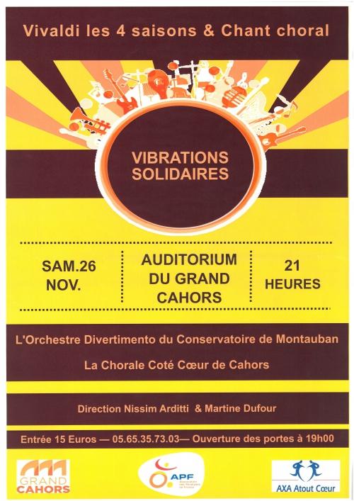 """concert,""""vibrations solidaires"""" apf46"""