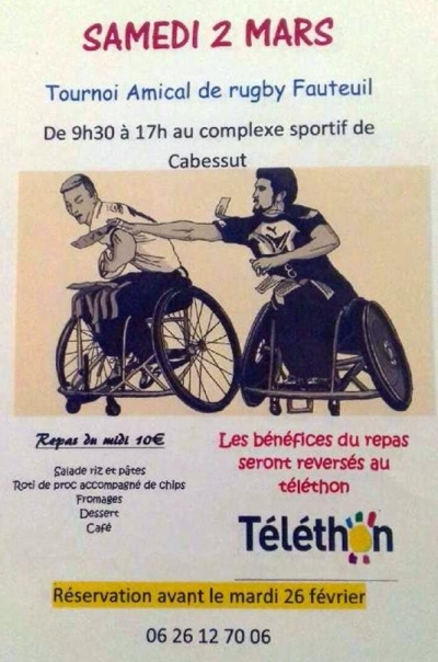 rugby fauteuil