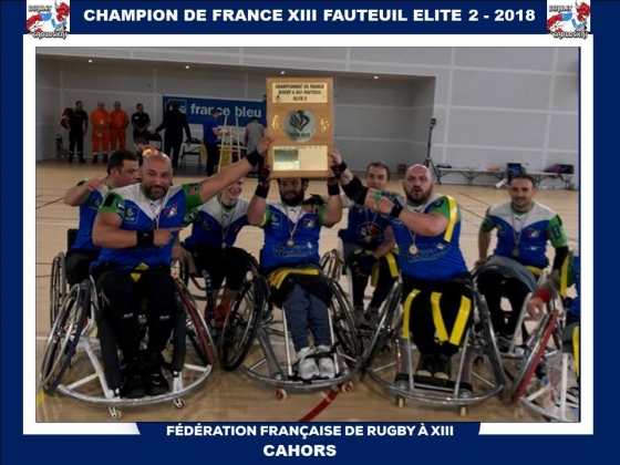 Rugby XIII Fauteuil,