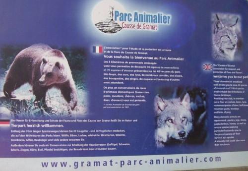 "Gramat,""Parc animalier"""