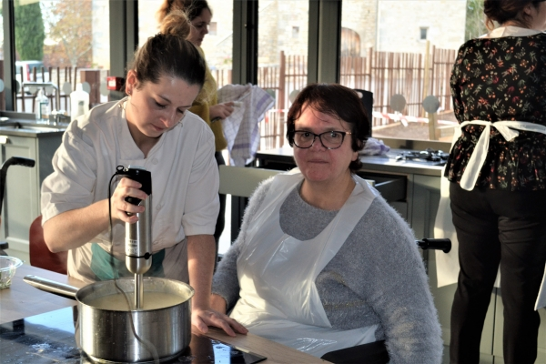 "ateliers cuisine ,""La Petite Fourchette"""
