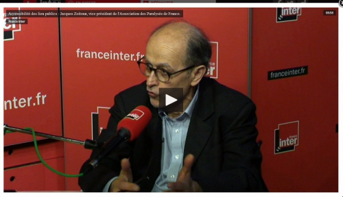 accessibilité en france,jacques zeitoun,france inter